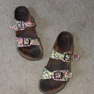 Birckenstock sandals